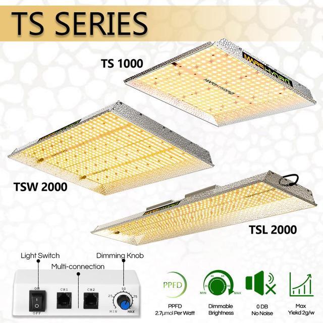 2020 화성 하이드로 TS 1000W 2000W 3000W LED 가벼운 램프를 성장 Sunlike 전체 스펙트럼 실내 식물 채식 꽃 수경법 Graden