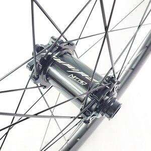 Image 3 - 1250g carbon BOOST tubeless wheels 29er MTB XC 30mm wide 25mm inner straight pull wheelset 110mm 148mm XD 11s micro spline 12s