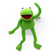 40cm Kermit Frog The Muppet Show rana peluche plush toys Sesame Street doll muppets frog include wire