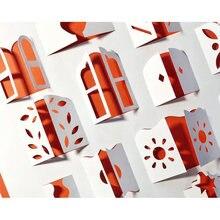 24/шт Металлические Вырубные штампы высечки 3d Тип форма для