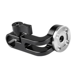 Image 5 - CAMVATE Standard 15mm simple tige pince avec ARRI Rosette M6 femelle filetage adaptateur pour DSLR Cage plate forme bricolage accessoires montage nouveau