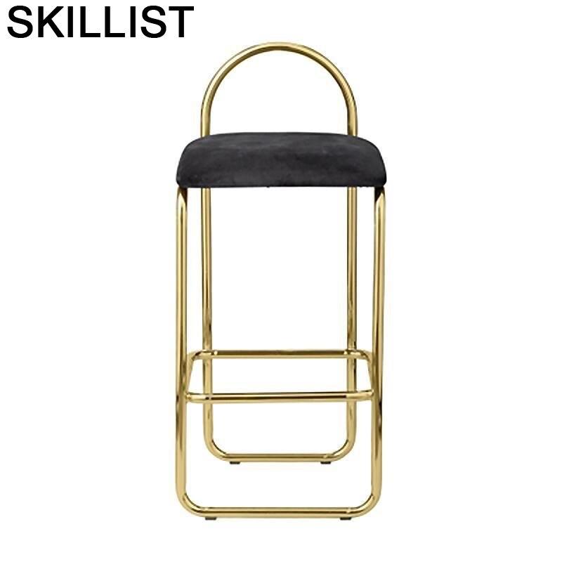 Stoel Barkrukken Sandalyesi Fauteuil Bancos Moderno Cadir Cadeira Sgabello Silla Stool Modern Tabouret De Moderne Bar Chair