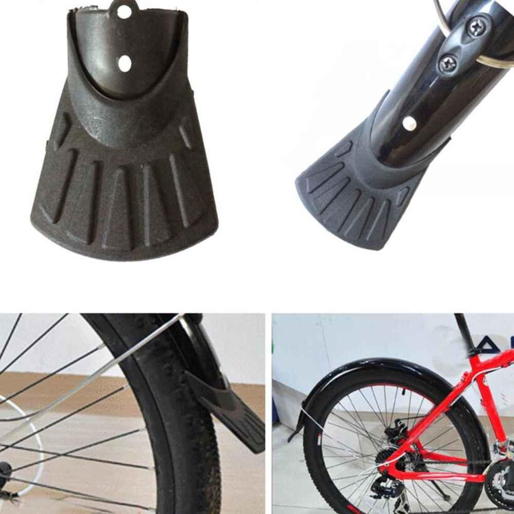 Guardabarros de bicicleta protección de guardabarros MTB guardabarros de bicicleta cubierta de cola de pez guardabarros de plástico accesorios de bicicleta de carretera MTB