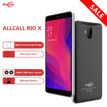 Allcall Rio X 3G Smartphone 13MP+2MP Rear Dual Camera Android 8.1 18:9 5.5 Inch MTK6580 Quad Core 1G