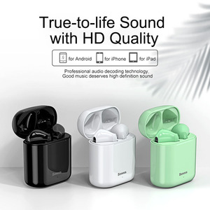 Image 2 - Baseus Tws Bluetooth Oortelefoon W09 Intelligente Vingerafdruk Touch Control Draadloze Met Stereo Bass Sound Smart Connect Hd Headset