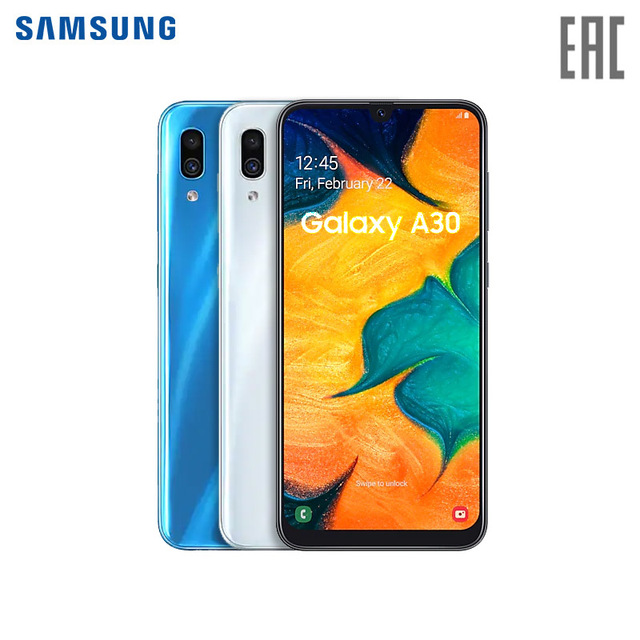 Смартфон Samsung Galaxy A30 3+32GB
