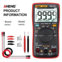 ANENG AN8009 мультиметр цифровой тестер multimeter esr метр мультиметры 9999 граф цифровой мультиметр транзистор тестер tester мултиметр тестор мультитест...