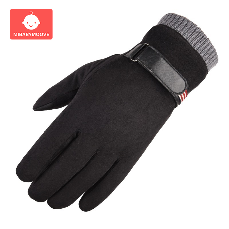 Warm Baby Winter Stroller Gloves Windproof Thick Fleece Pushchair Accessory Touch Screen