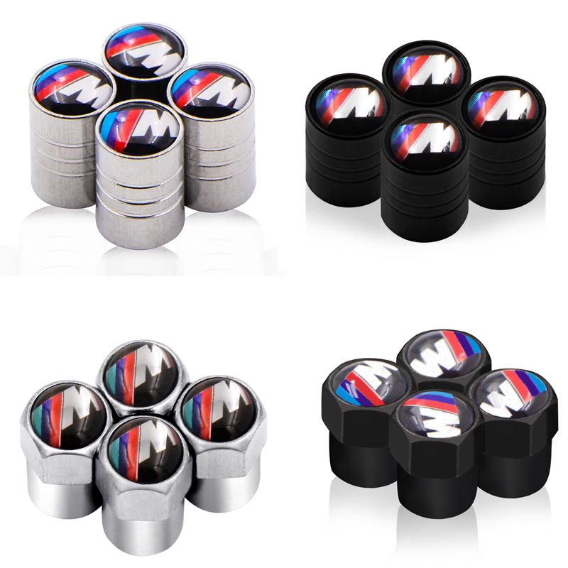 <font><b>2019</b></font> Car Wheel Tire Valves Tyre Air Caps case for E39 E36 E60 E90 E34 <font><b>BMW</b></font> E46 car <font><b>accessories</b></font> Motorcycle Automobiles image