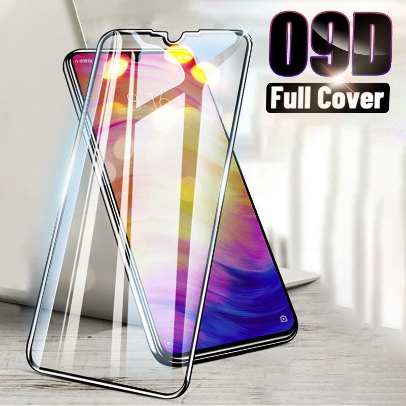 9D Full Cover Tempered Glass For Xiaomi Mi Note 10 Pro 9 SE Lite Screen Protector For Xiaomi Mi 9t Pro 8 Lite 10 A3 Curved Film|Phone Screen Protectors| - AliExpress