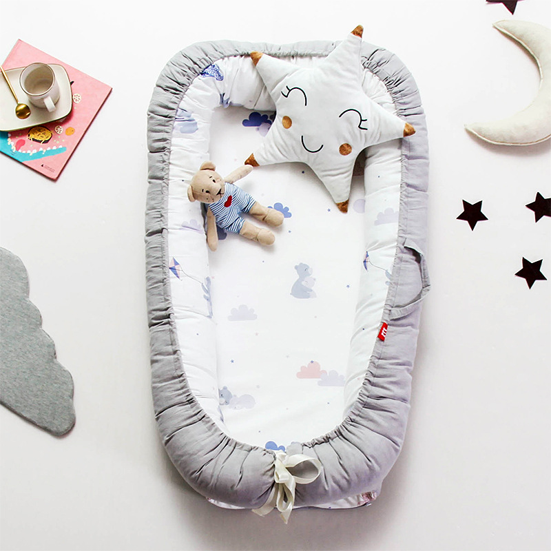 Portable Baby Crib Nursery Travel Folding Baby Bed Nest