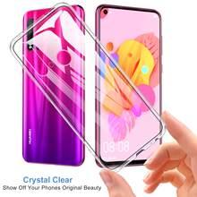 Clear Mobiele Telefoon Cover Cases Voor Huawei Nova 5 5i 5 T Pro Silicone Soft Tpu Transparante Back Shell Nova5 T Nova5i Nova5Pro 5Pro