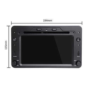 DSP 4G 64G Android 9.0 Car DVD PLAYER For Alfa Romeo Spider Alfa Romeo 159 Brera 159 Sportwagon GPS RADIO stereo
