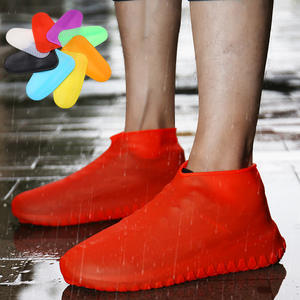 Shoe-Cover Boots Overshoes Rubber Silicon-Gel Elasticity Anti-Slip Rain Waterproof Prot
