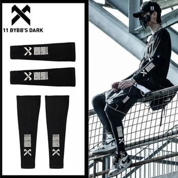 11 BYBB'S DARK 2020 Summer Ice Silk Bracers Kneepads Arm Pads Hip Hop Sports Street Knee Pads Accessories Men