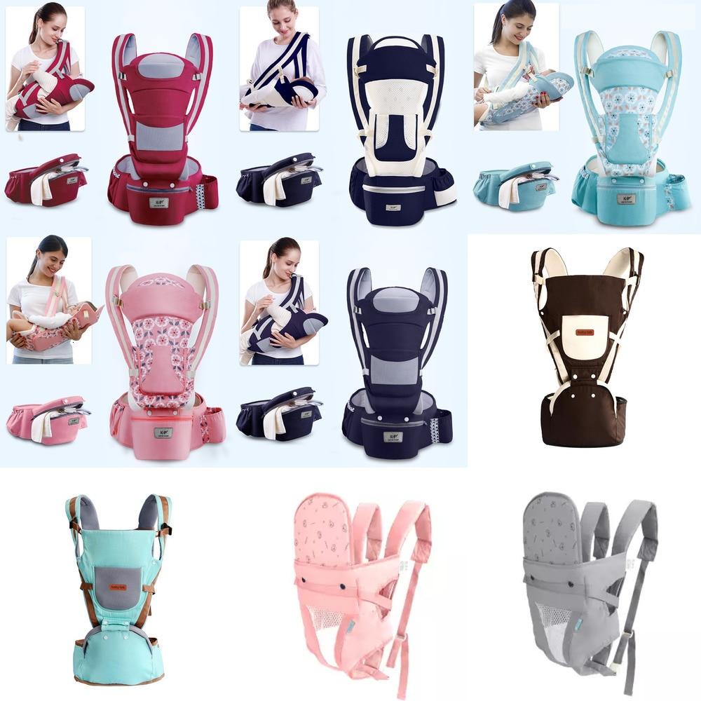Portabebe Baby Carrier Ergonomic Baby Carrier Infant Baby Ergonomic Adjustable Wrap Sling Chest Kangaroo Backpack 0-4 Years