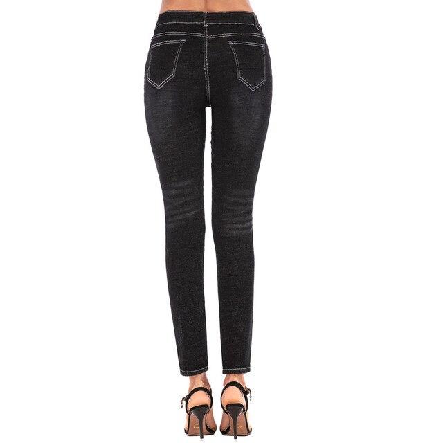 Vintage Skinny Biker Jeans 5