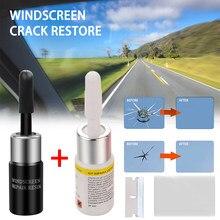 2 pçs vidro automotivo nano reparação fluido janela do carro quebrado vidro crack chip ferramenta de reparo kit atacado