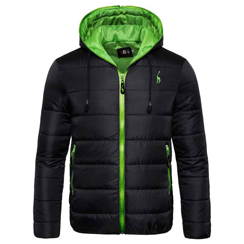Dropshipping Winter Jacket Men 2020 Fashion Hooded Waterproof Male Parka Coats Solid Thicken Jackets Parkas Men Winter Clothing