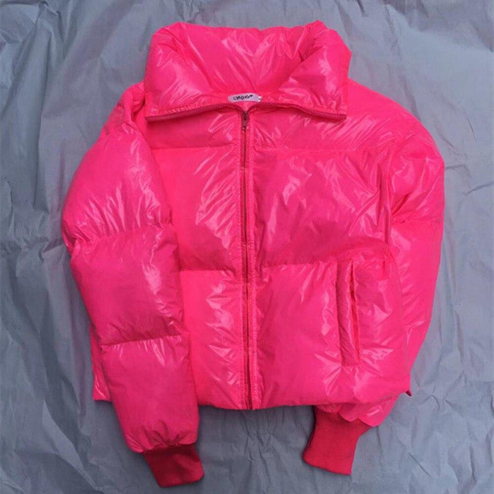 Parka   Winter Puffer Jacket Women Bubble Coat 2019 Vintage