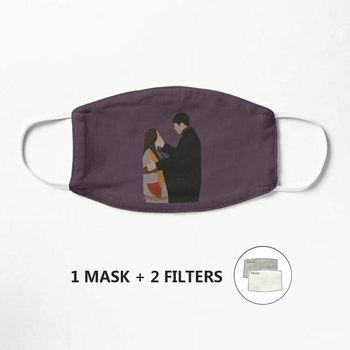Hyun Bin and Son Ye Jin Kdrama Couple Minimalist Mask Anti-Dust Mask Windproof Reusable Masque Washable Face Mask Mouth image