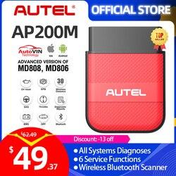 Autel AP200M Bluetooth obd2 scanner code reader full system diagnostic tool diagnostic scanner pk easydiag 3.0 thinkdiag