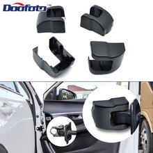 Doofoto 4x ограничитель двери автомобиля крышка для peugeot 307 206 407 3008 308 208 207 508 защитные аксессуары чехол с замком для стайлинга