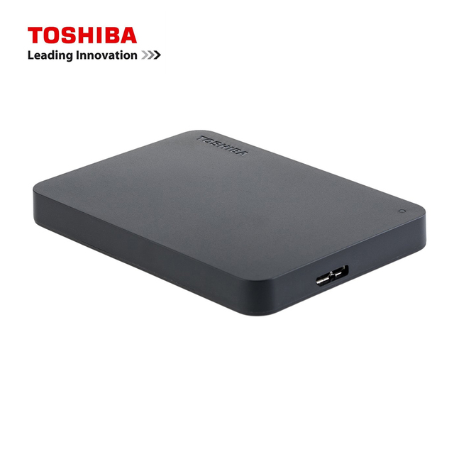Toshiba A3 HDTB420XK3AA Canvio Basics 500GB 1TB 2TB 4TB Portable External Hard Drive USB 3.0, Black 5