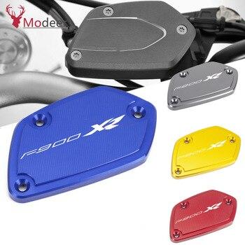LOGO F900XR accesorios de motocicleta frenos depósito de aceite fluido cubierta para BMW F900XR F900 XR 2020 F 900XR