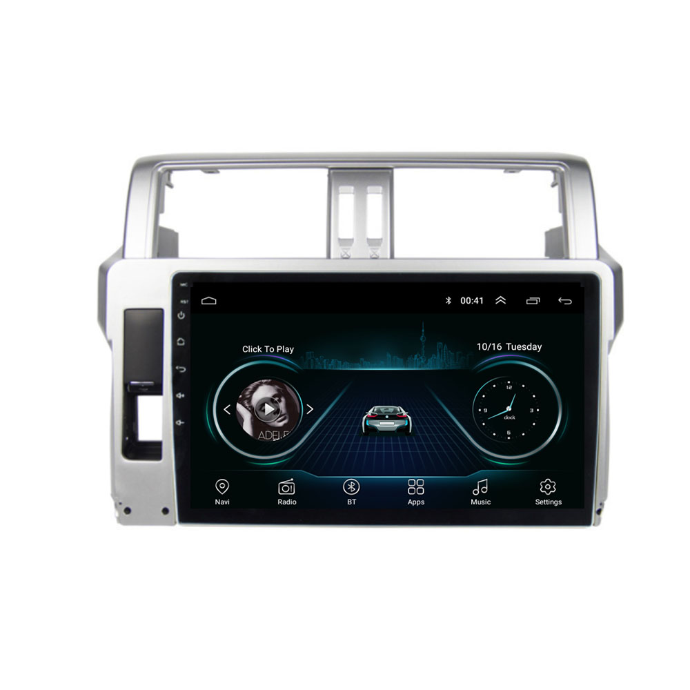 quad core Android 8.1 Fit TOYOTA PRADO 2014 2015 2016 2017 Multimedia Stereo Car DVD Player Navigation GPS Radio|Car Multimedia Player| |  - title=