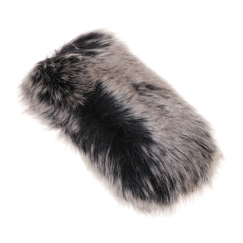 New Outdoor Stereo Microphone Furry Windscreen Windproof Cover Muff For Mic-01 Mic-108 Accessories