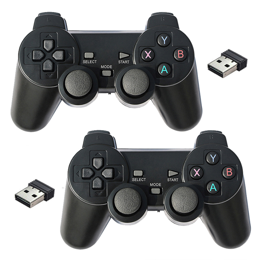 2.4G Wireless Gamepad Controller USB Gaming Joystick For PC Laptop Android Device Support Windows 10/8/7/XP Raspberry Pi 4 3