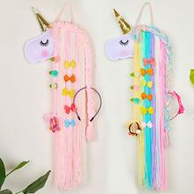 Belt Hair-Bows-Holder Storage Kids for Girls Hairband-Organizer Gift Long as
