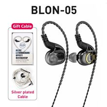 BLON BL 05 BL05 BL 03 BL03 10mm 2nd Generation Kohlenstoff nanoröhrchen CNT Membran In Ohr Kopfhörer HIFI DJ Sport Earbuds mit 2pin