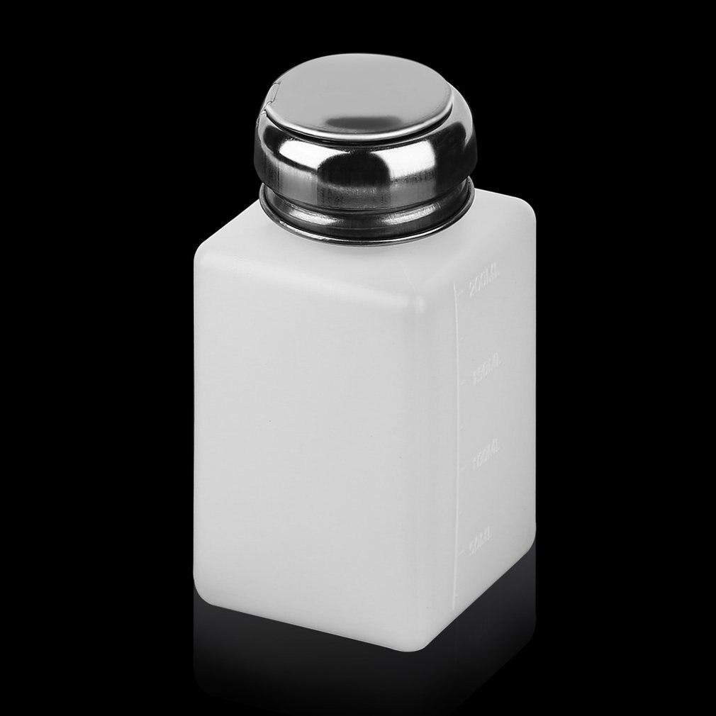 Newly 200ML Liquid Alcohol Press Nail Polish Remover Dispenser Pumping Bottle CLA88