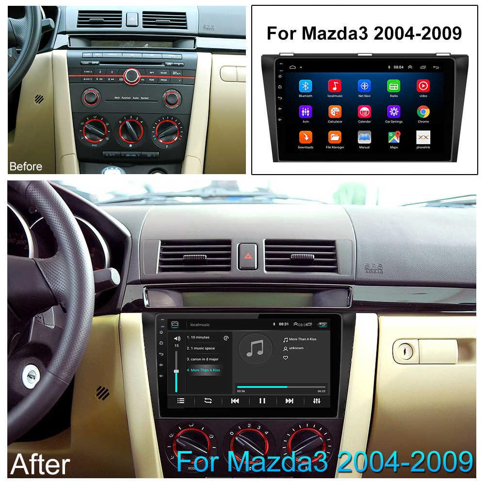 車 DVD GPS アンドロイド 8.1 カーラジオステレオ 2 グラム 32 グラム送料マップクアッドコア 2 喧騒車のマルチメディアプレーヤーマツダ 3 2004-2013 マックスアクセル