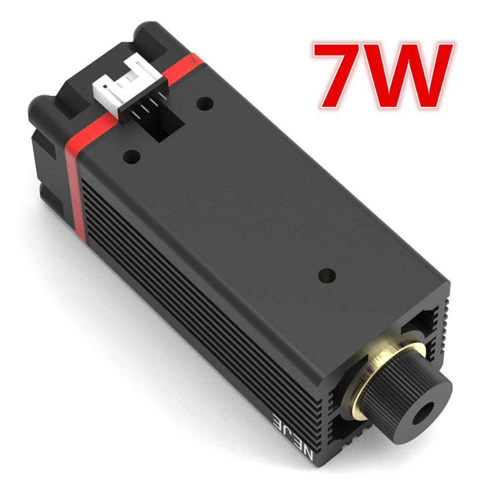 7W 450nm Laser Module Head For NEJE MASTER Laser Deapth And Metal Engrave Machine Replacement