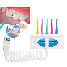 Faucet Oral Irrigator Water Dental Flosser Portable Teeth Water Jet Irrigation Tooth Cleaning 5 Nozzle Water Pick Teeth Cleaner new adults water flosser jet faucet oral irrigator dental toothbrush teeth cleaning irrigation irrigador oral no electricity