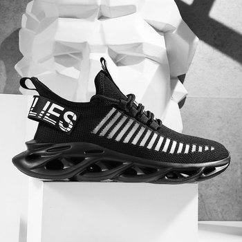 Air Mesh Breathable Men Shoes Cushioning Lightweight Running Sneakers Women Fashion Jogging