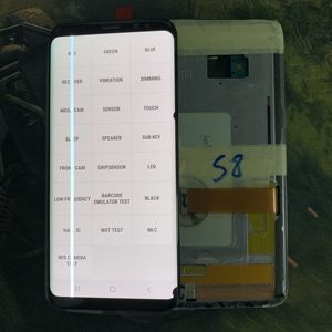 Image 3 - Have Big line and burn and Dead pixels LCD For Samsung Galaxy S8 G950 G950F LCD Display Touch Screen Digitizer