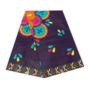 Image 2 - Batik Ankara Africa Printing Patchwork Fabric Guaranteed Real Wax Tissu 100% Cotton Best Quality For Dress Making Craft Material