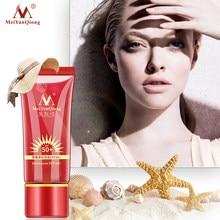 Protector solar para el cuerpo Facial, protección solar SPF50 +, reparación blanqueadora, bloqueador solar, crema protectora para la piel, hidratante aislante antisensible con control de aceite