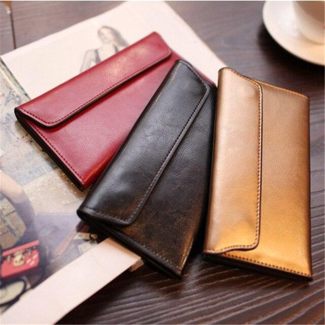 Long Magnetic Buckle Wallet  2