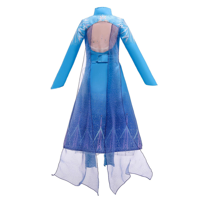 BNIBWT Girls Frozen Elsa Anna Party Princess Fancy Dress Costume