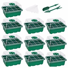 Trays Seed-Starter Garden-Decor-Accessories Cells-Per-Tray Humidity-Adjustable-Switch