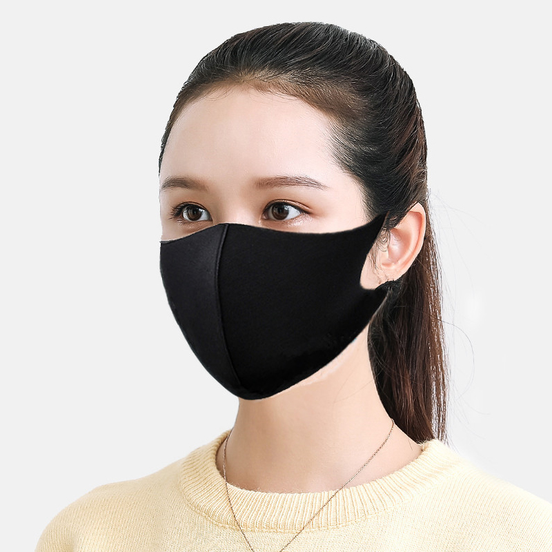 Protective Face Mask For Kids Men Women Sponge Dustproof Reusable Dust Mask Respirator Outdoor Particulates Filter Safety Mask