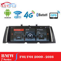 """10.2"""" screen Android 9 Car radio multimedia GPS player for BMW 7 Series F01 F02 2009-2015 CIC NBT head unit navigation system"""