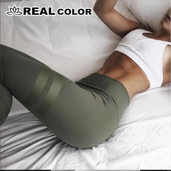 Colors Army Green Sporting   Leggings   Clothing For Women's Fitness Quick Dry Pants High Waist Leggins Fitness Workout   Leggings   -8