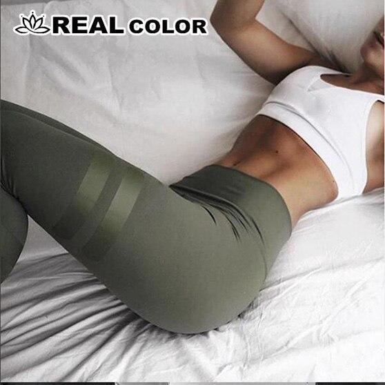 Cores Leggings Esportivos Roupas Exército Verde Para A Aptidão das Mulheres de Secagem rápida Calças Calças de Cintura Alta Leggins de Fitness Workout Leggings- 8