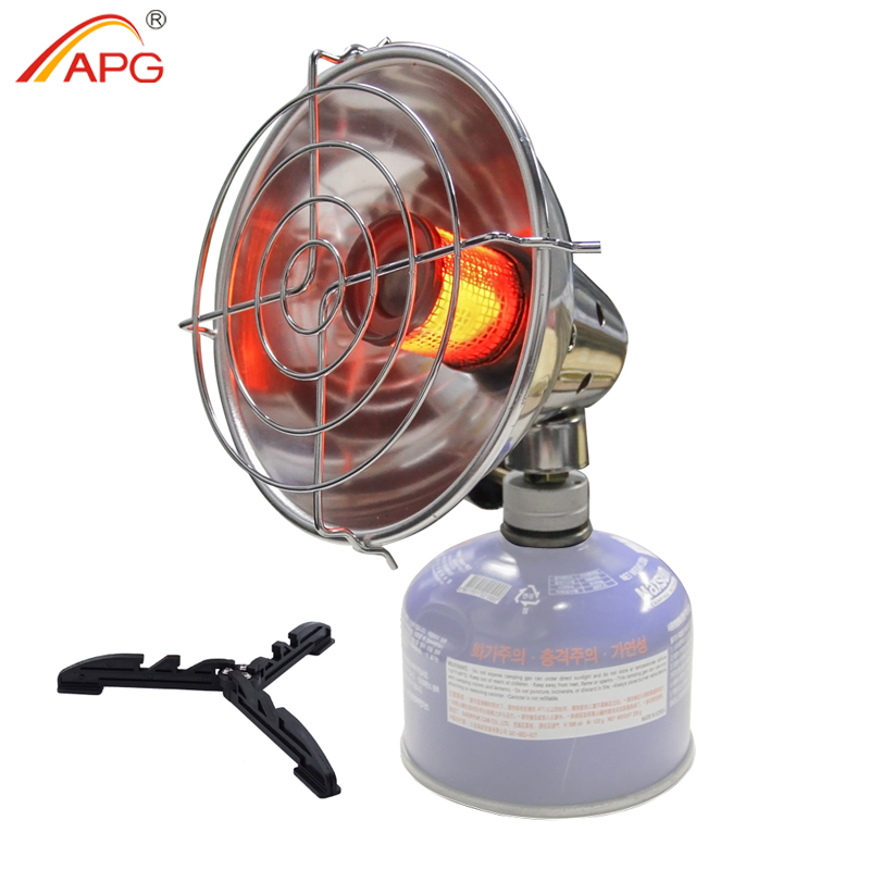 APG Portable Gas Heater Outdoor Warmer Propane Butane Tent Heater Camping Stove Cooker